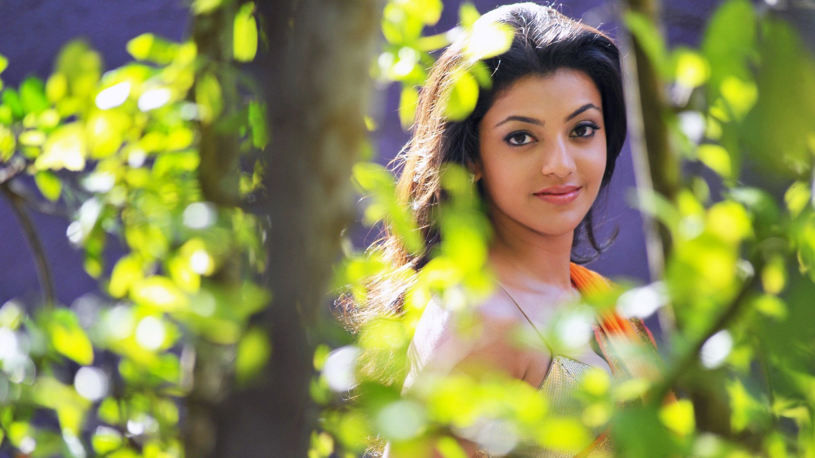 Kajal Agarwal Cute Wallpapers Kajal Agarwal 2014 Wallpapers Hd Wallpapers Id 14124