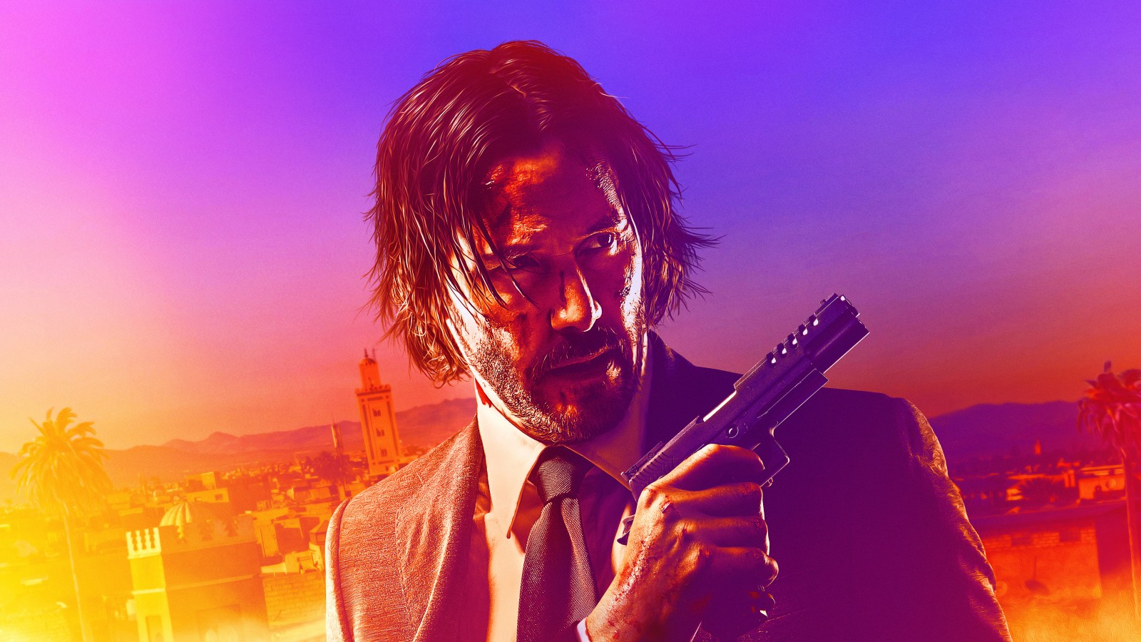 Hd Android Wallpapers 3d Keanu Reeves In John Wick Chapter 3 Parabellum 4k 8k