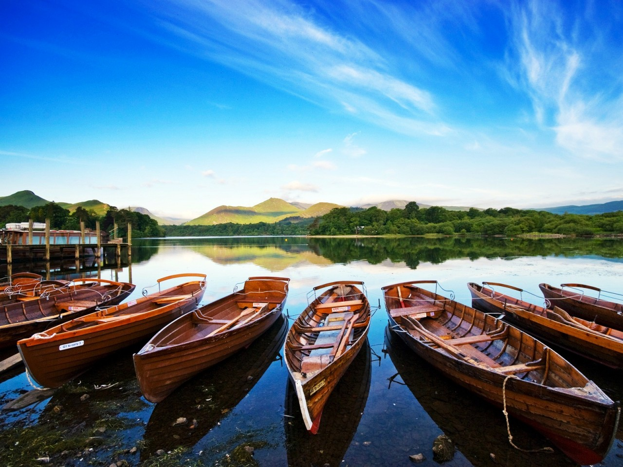 3d Parallel Wallpaper Keswick In The Lake District Wallpapers Hd Wallpapers