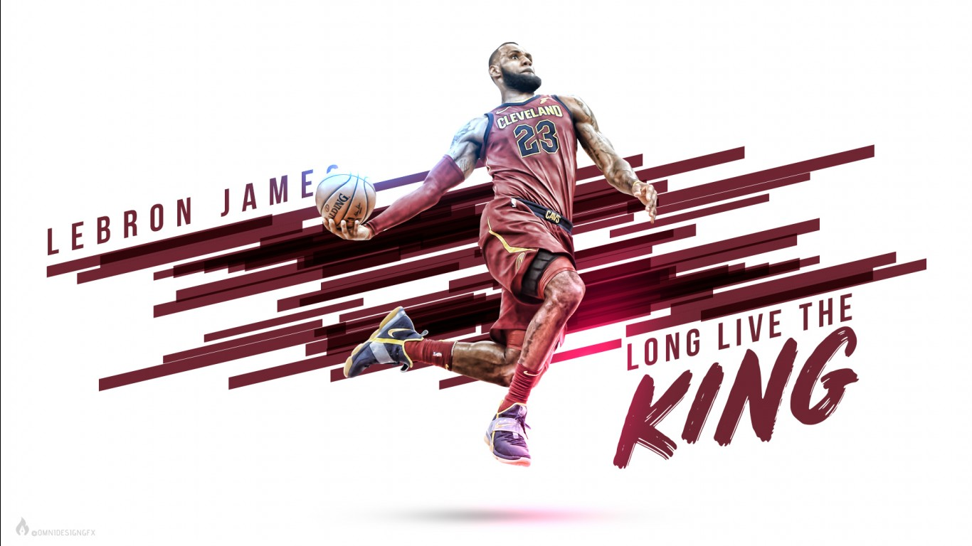 Nba 3d Live Wallpaper For Iphone King Lebron James Wallpapers Hd Wallpapers Id 22556