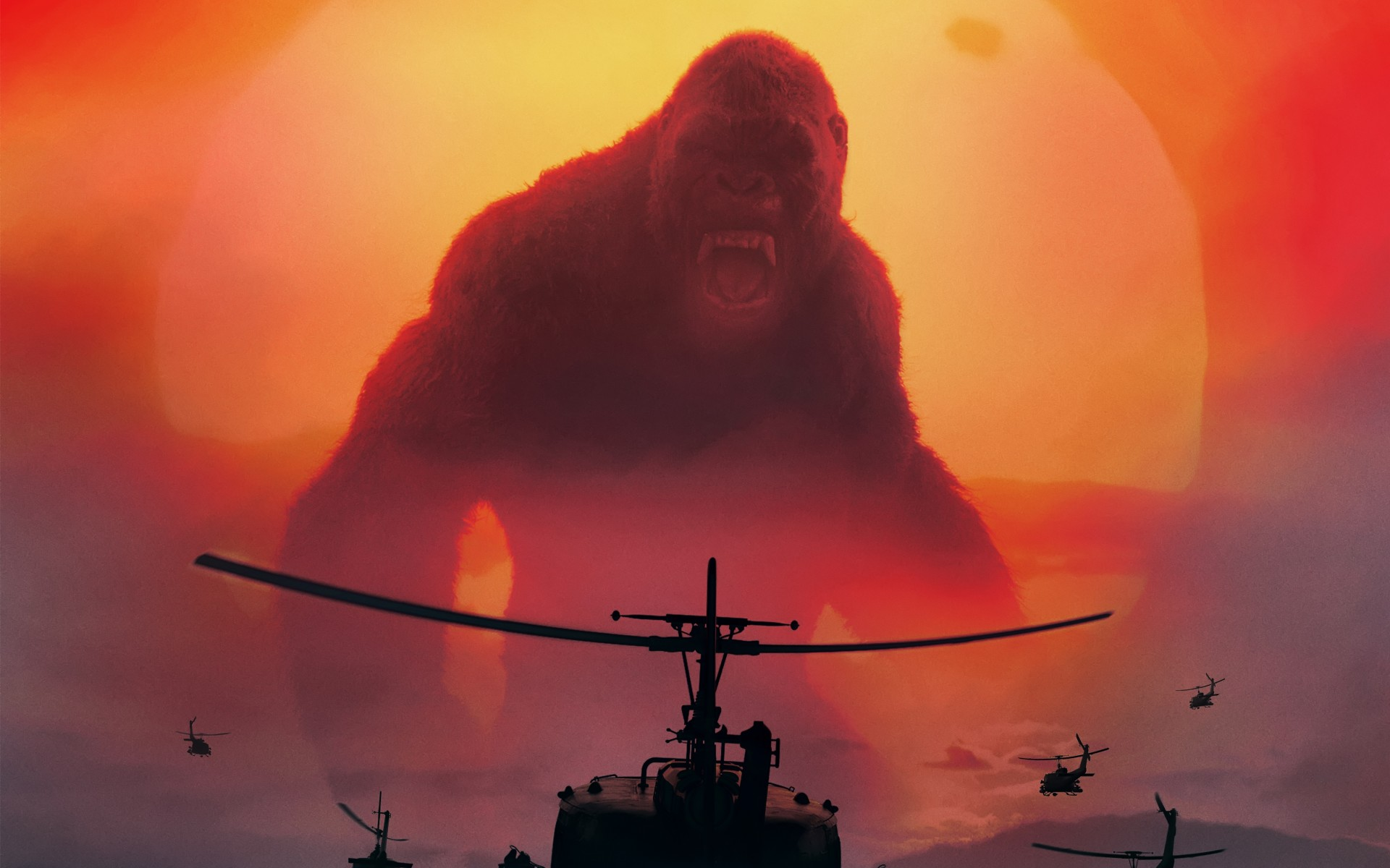 Most Popular Wallpaper For Iphone 6 Kong Skull Island 2017 Movie 4k Wallpapers Hd Wallpapers