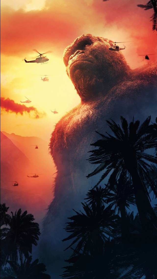 3d Wallpaper On Iphone 6s Kong Skull Island 4k 2017 Wallpapers Hd Wallpapers Id