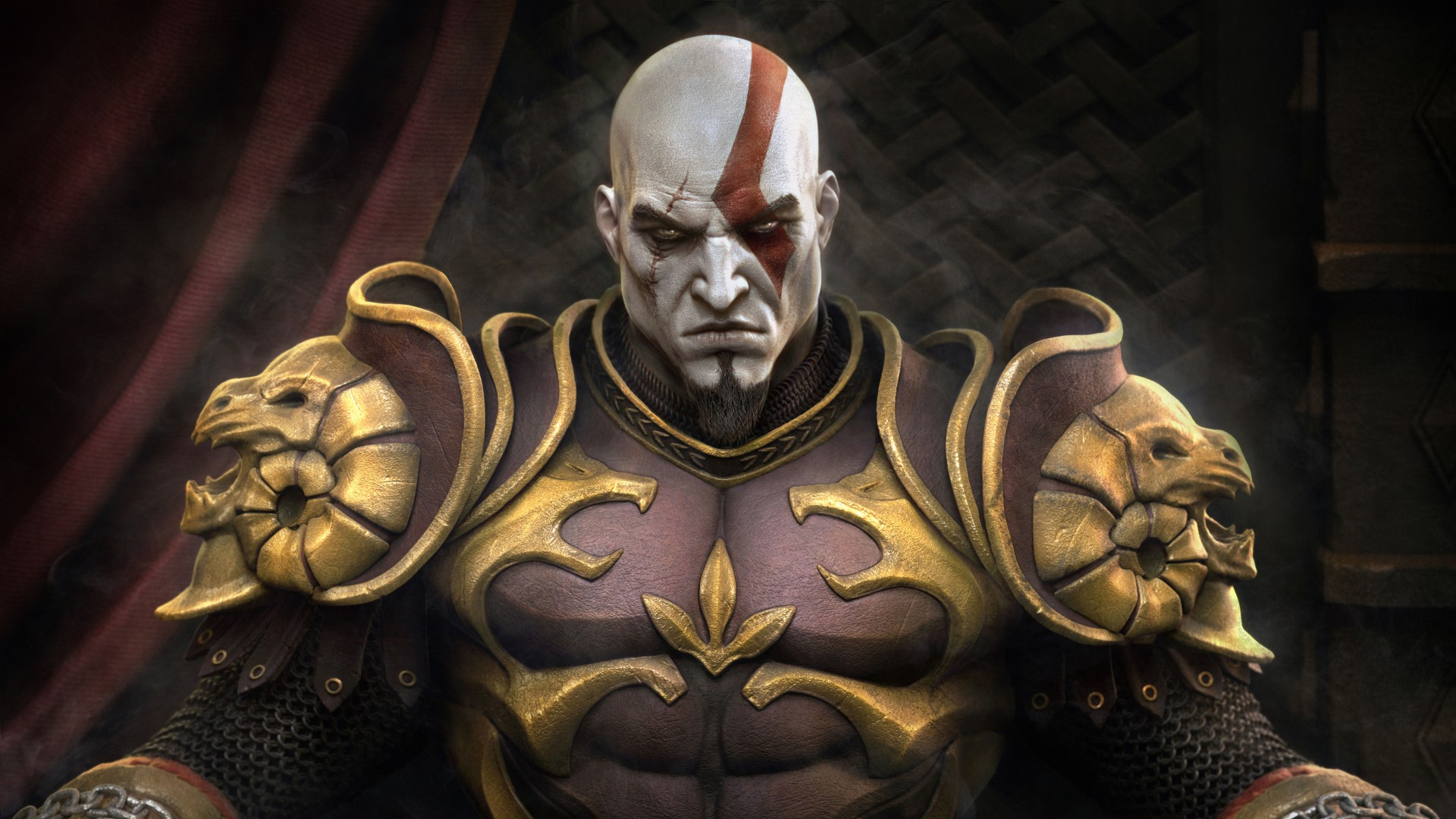 Download Black Wallpaper For Android Kratos Throne 4k 8k Wallpapers Hd Wallpapers Id 24090