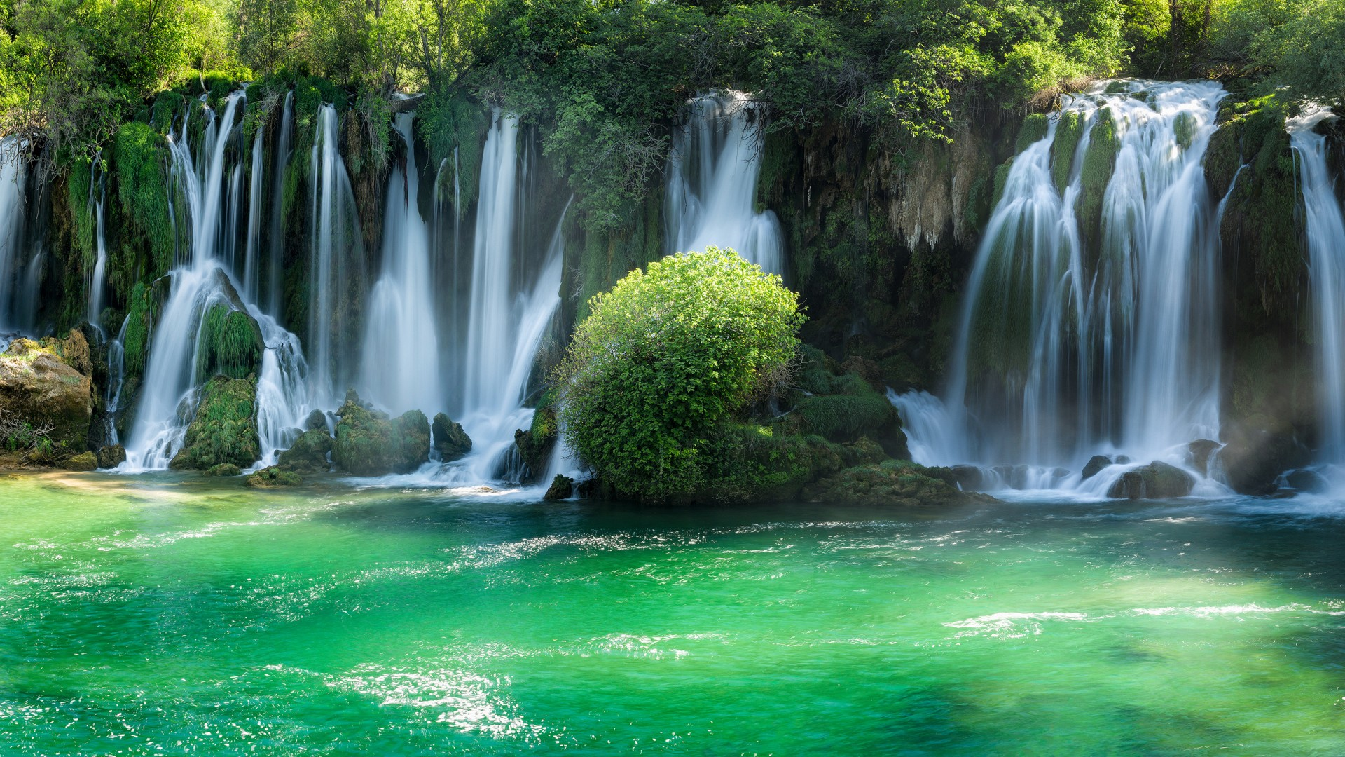 3d Wallpaper Widescreen Waterfalls Kravice Waterfalls Wallpapers Hd Wallpapers Id 25616