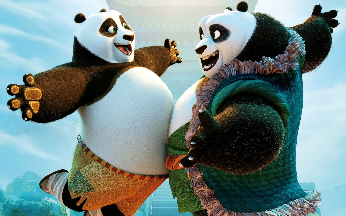 Wallpaper Desktop 3d Animation Kung Fu Panda 3 2016 Animation Wallpapers Hd Wallpapers
