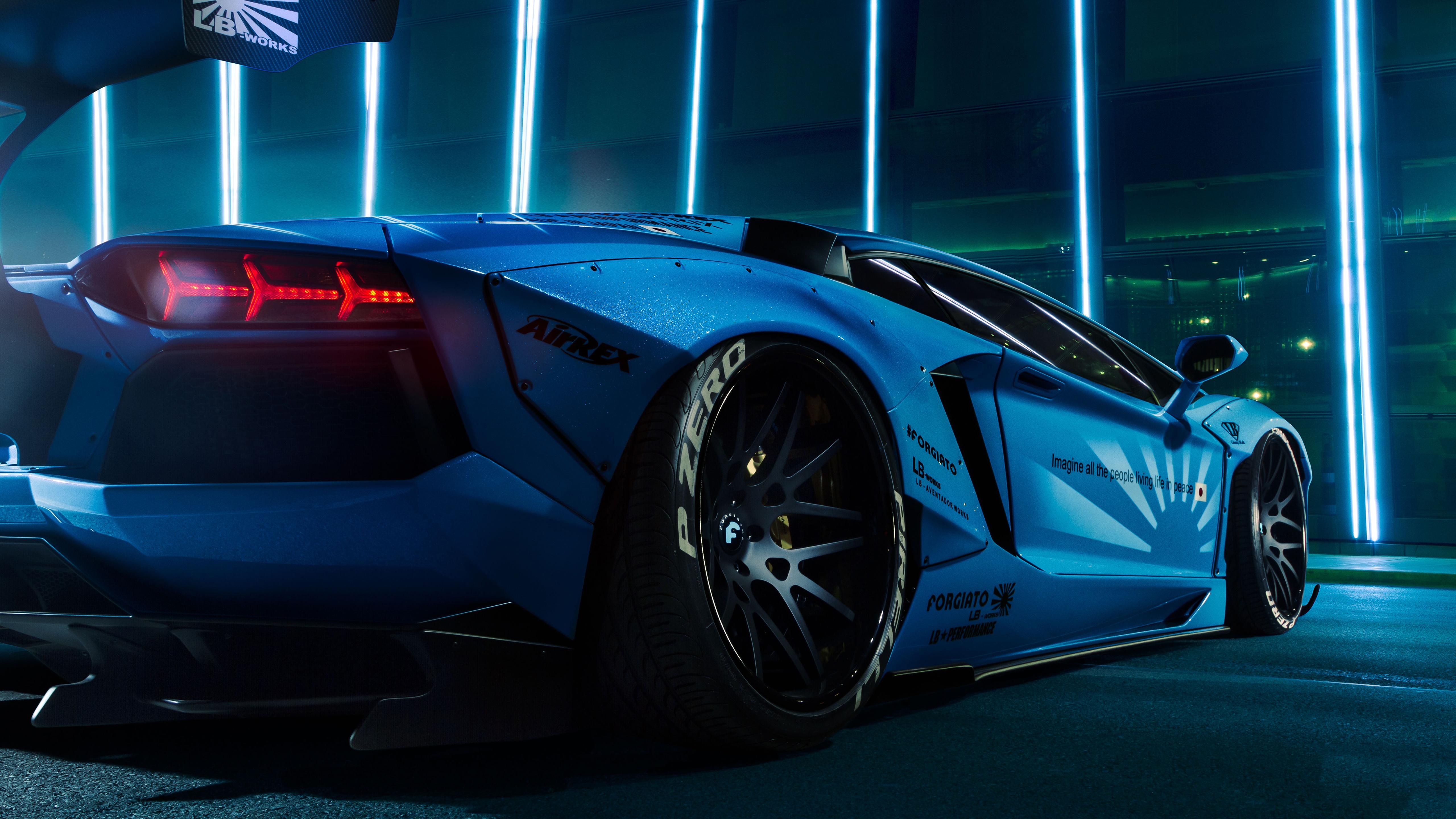Cool Anime Wallpaper 3d Lamborghini Aventador Lb Performance 5k Wallpapers Hd