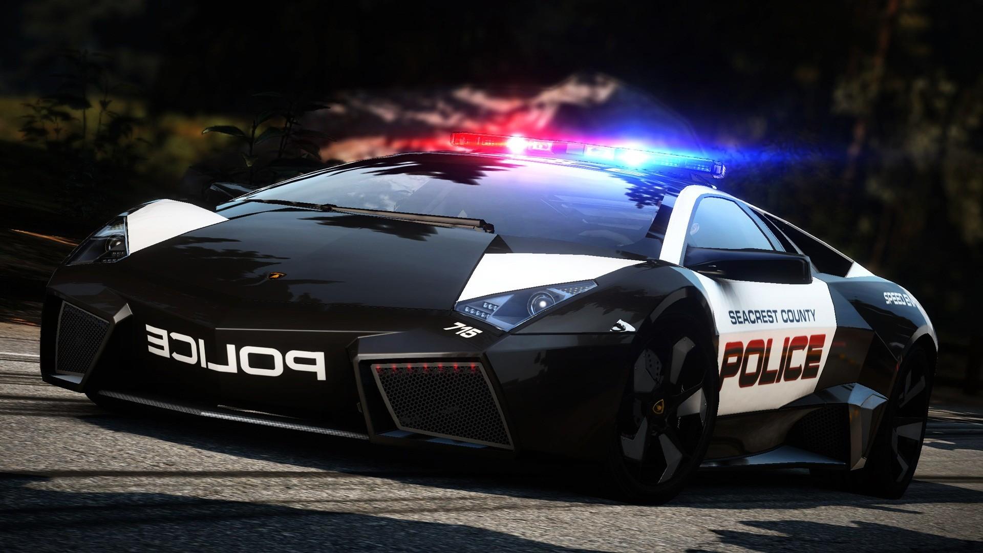 Police Car Wallpaper Hd Lamborghini Reventon Hot Pursuit Wallpapers Hd