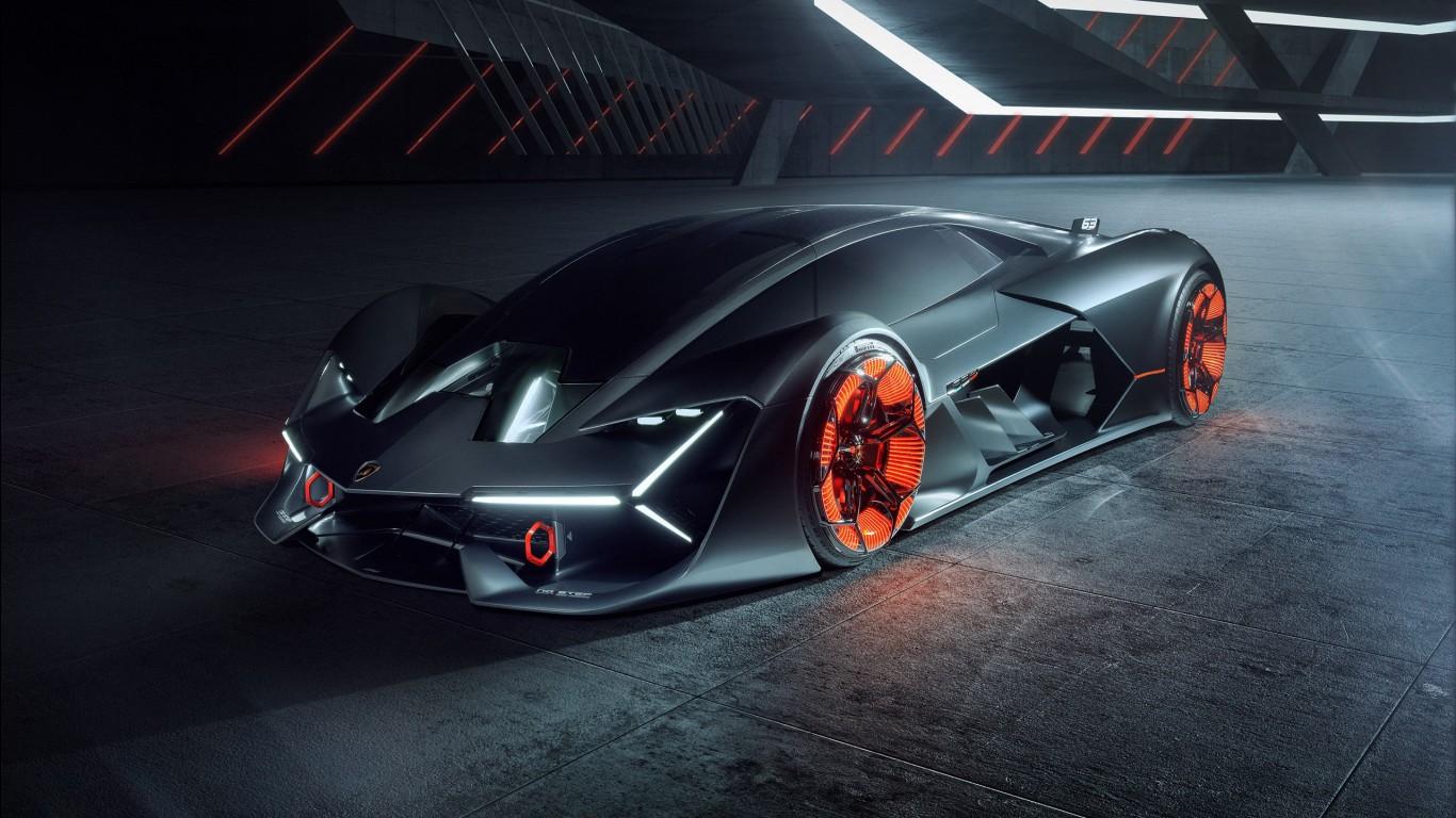 Top 10 Sports Car Wallpapers Lamborghini Terzo Millennio Wallpapers Hd Wallpapers