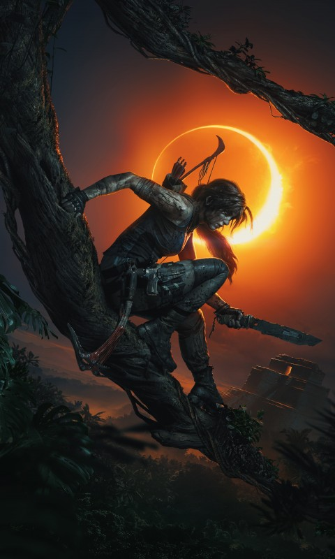 Iphone X Wallpaper Full Hd Lara Croft Shadow Of The Tomb Raider Wallpapers Hd