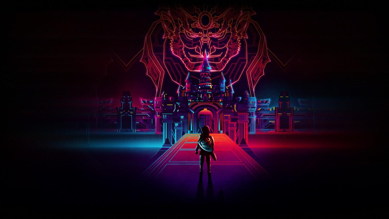3d Desktop Wallpaper Superman Hd Legend Of Zelda Retro Neon Wallpapers Hd Wallpapers Id