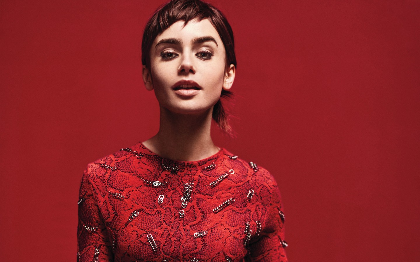 3d Wallpaper For Ipad Retina Lily Collins 2018 4k Wallpapers Hd Wallpapers Id 23062
