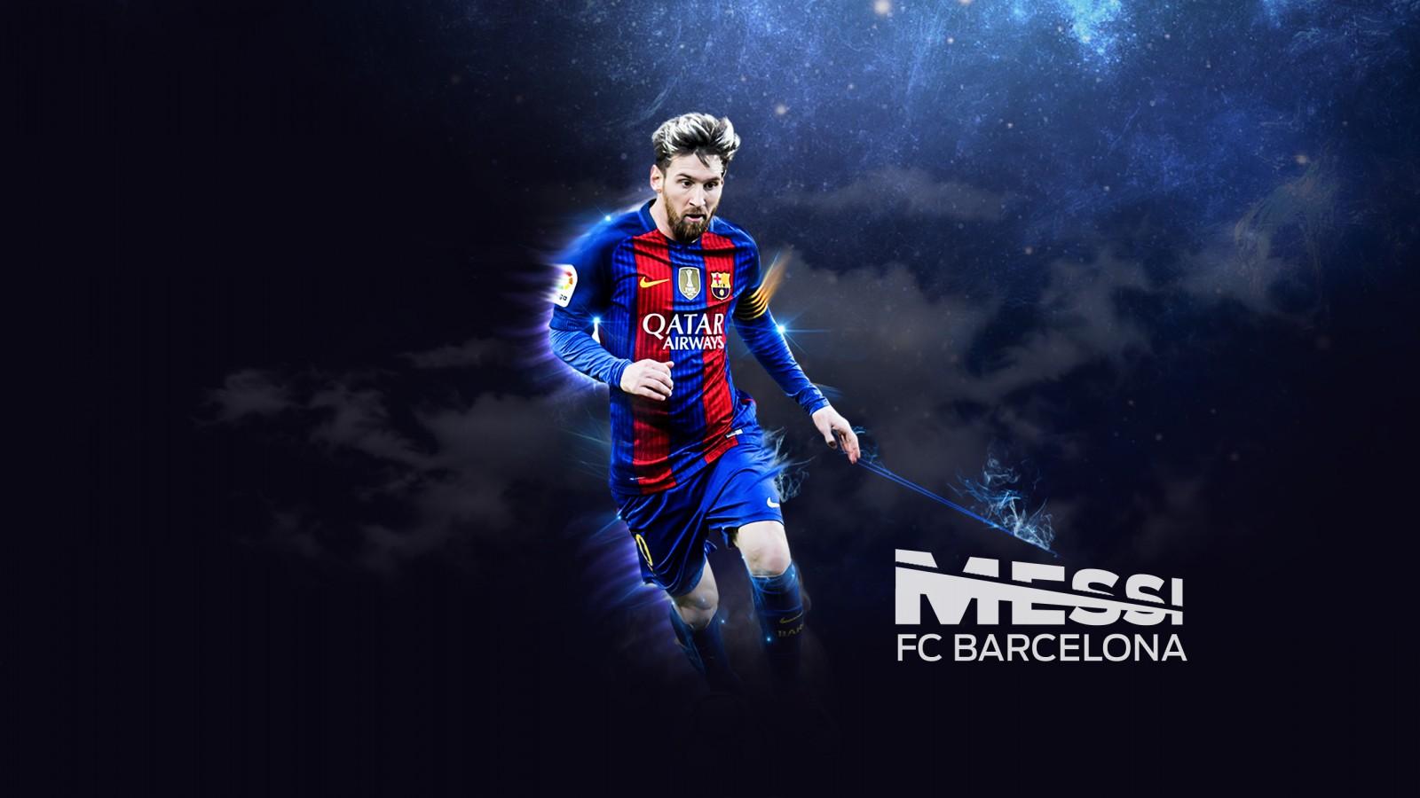 Barcelona 3d Wallpaper Lionel Messi Fc Barcelona Footballer Wallpapers Hd