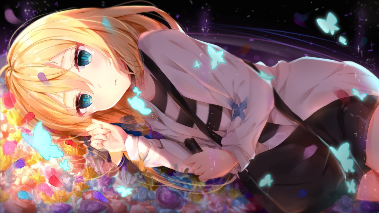 D Girl Wallpaper Lonely Anime Girl Wallpapers Hd Wallpapers Id 25383