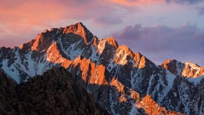 macOS Sierra Stock Mountains 4K Wallpapers | HD Wallpapers | ID #18214