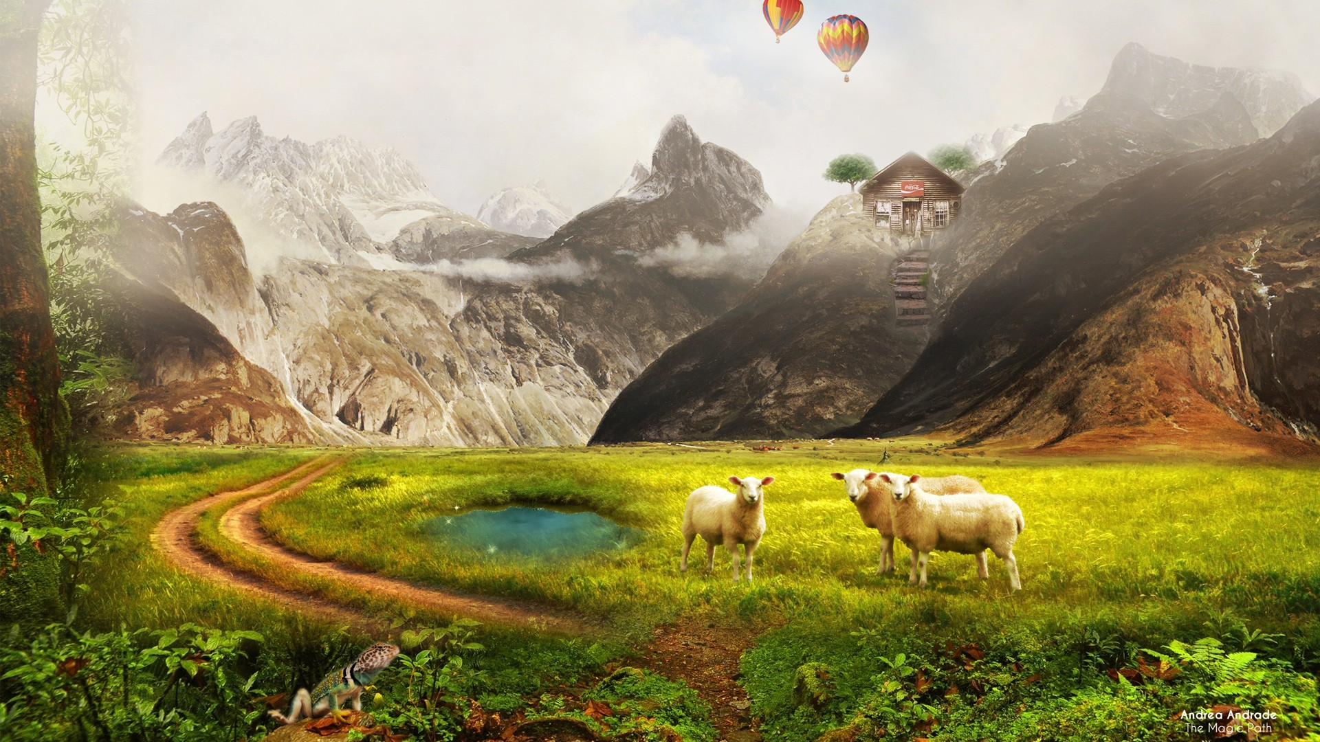 3d Wallpaper Colourful Magic Path Wallpapers Hd Wallpapers Id 16865