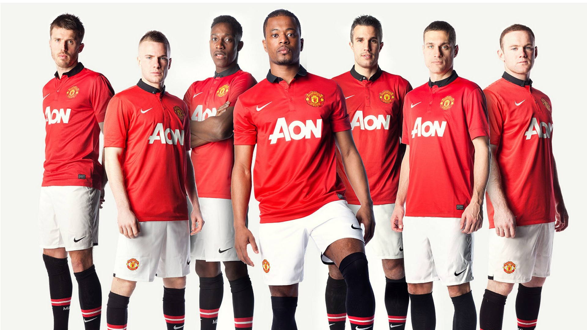 Manchester United Iphone Wallpaper Hd Manchester United Team 2013 Wallpapers Hd Wallpapers