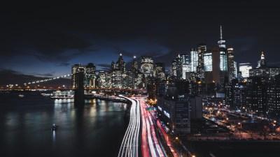 Manhattan New York City Night Cityscape 4K 8K Wallpapers | HD Wallpapers | ID #23702
