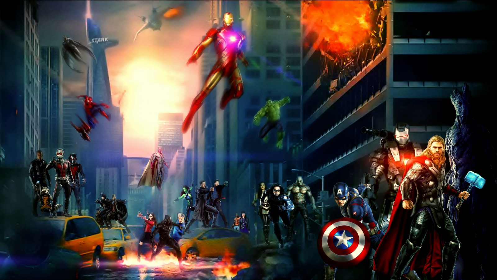 Wallpaper Superhero Marvel 3d Marvel Cinematic Universe 5k Wallpapers Hd Wallpapers