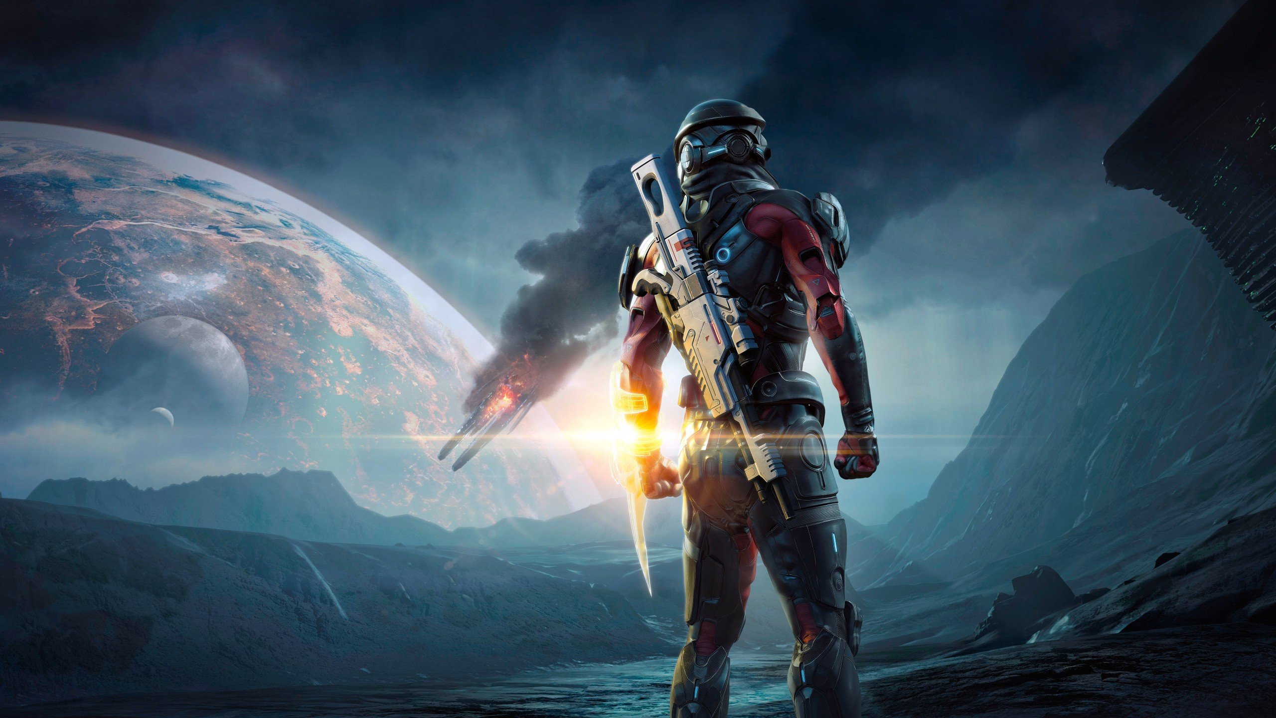 3d Wallpaper Mario Mass Effect Andromeda 4k Wallpapers Hd Wallpapers Id