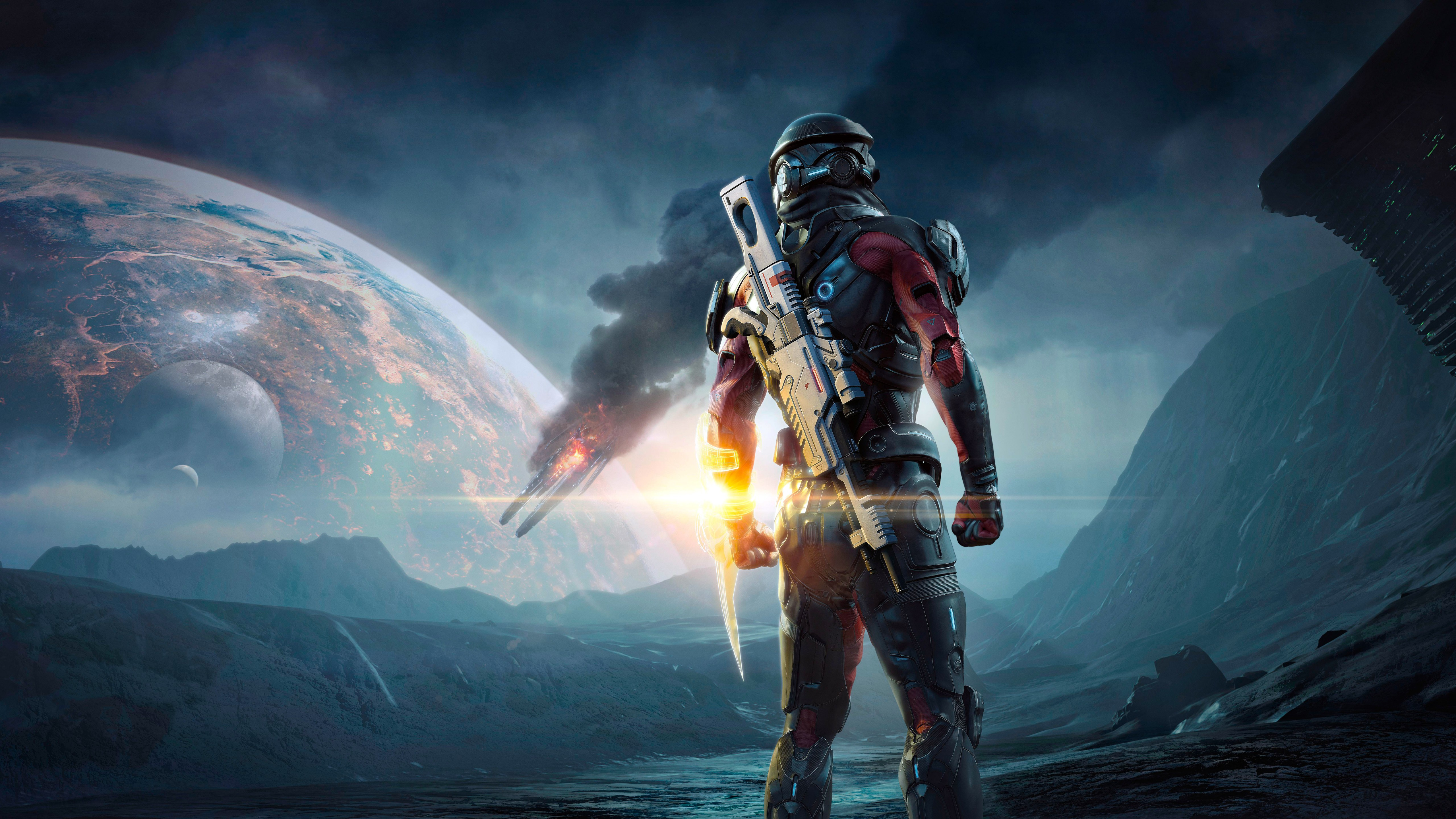 Android 3d Wallpaper Effect Mass Effect Andromeda 4k Wallpapers Hd Wallpapers Id