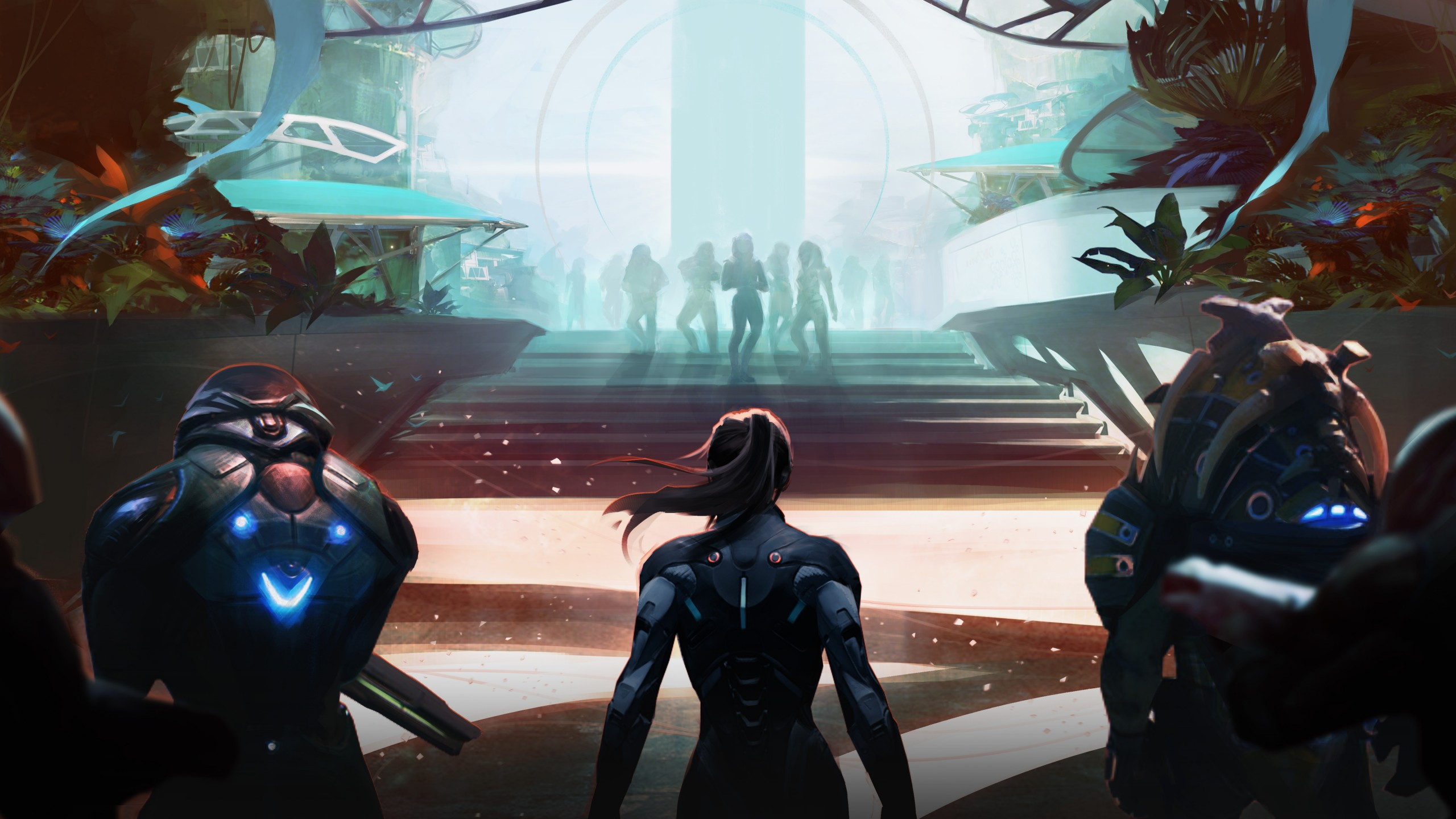 3d Effect Ipad Wallpaper Mass Effect Andromeda Artwork 4k Wallpapers Hd