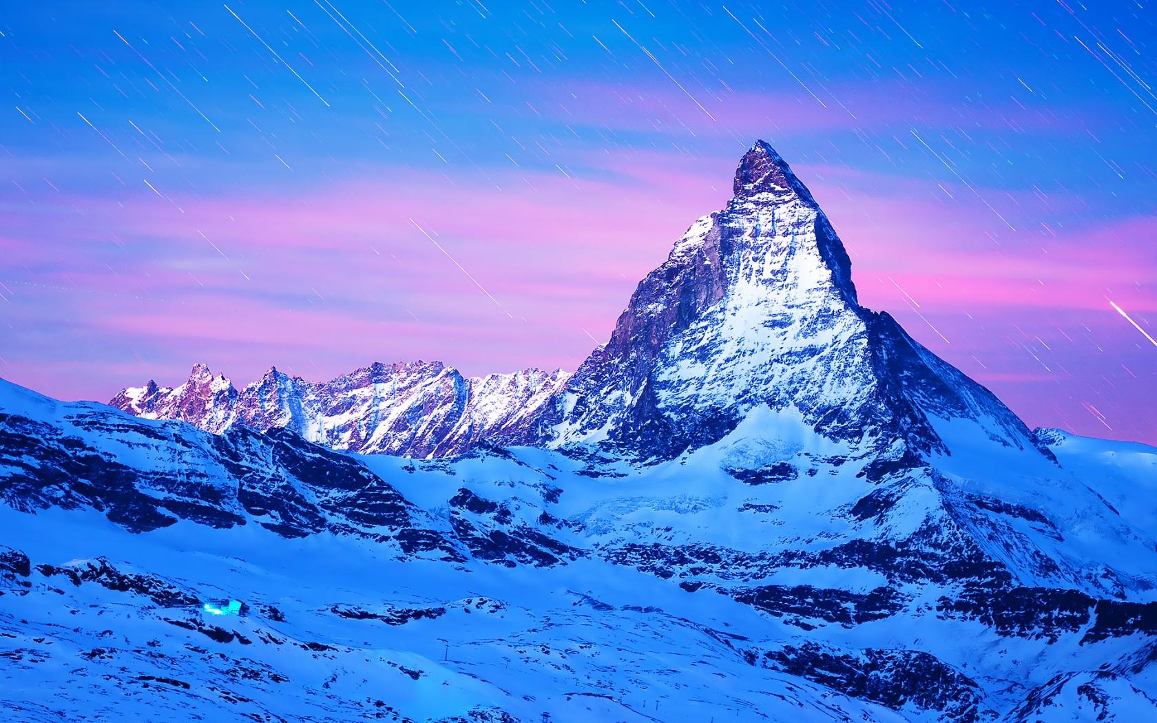 3d Fall Wallpaper Matterhorn Mountain Europe Wallpapers Hd Wallpapers Id