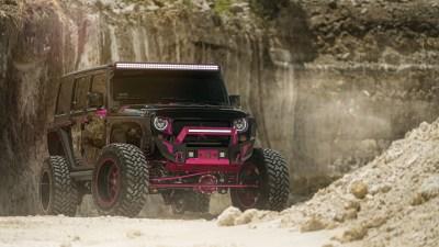MC Fuel Ladies Jeep 5K Wallpapers | HD Wallpapers | ID #18523