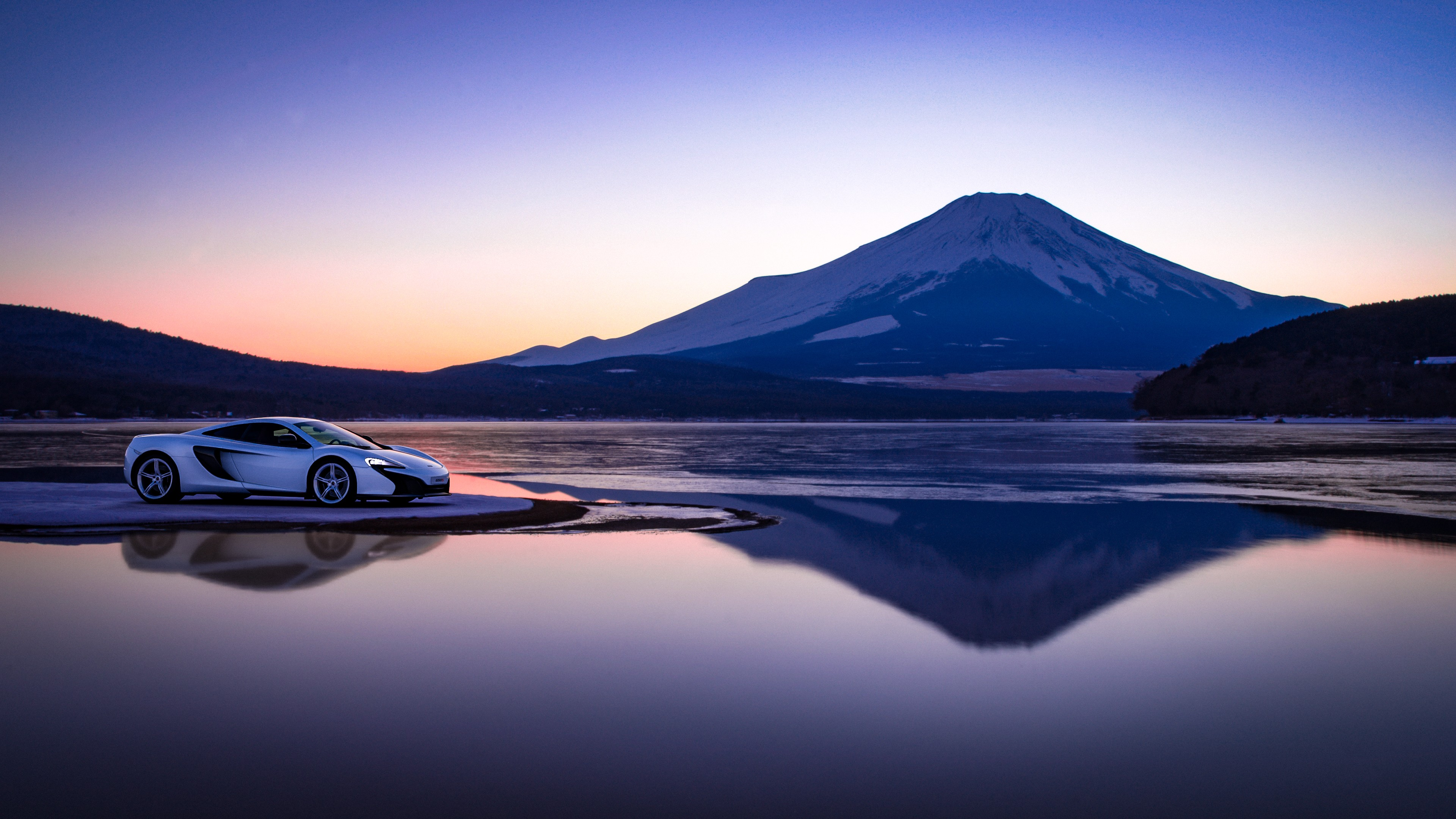 Hd 3d Nature Wallpapers 1080p Widescreen Mclaren At Mount Fuji Wallpapers Hd Wallpapers Id 27290