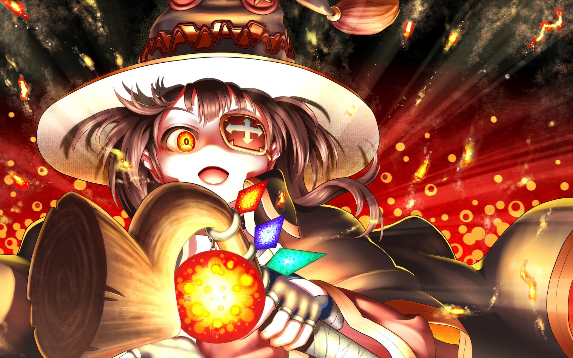Alone Girl Wallpapers Download Megumin Anime 4k Wallpapers Hd Wallpapers Id 17113