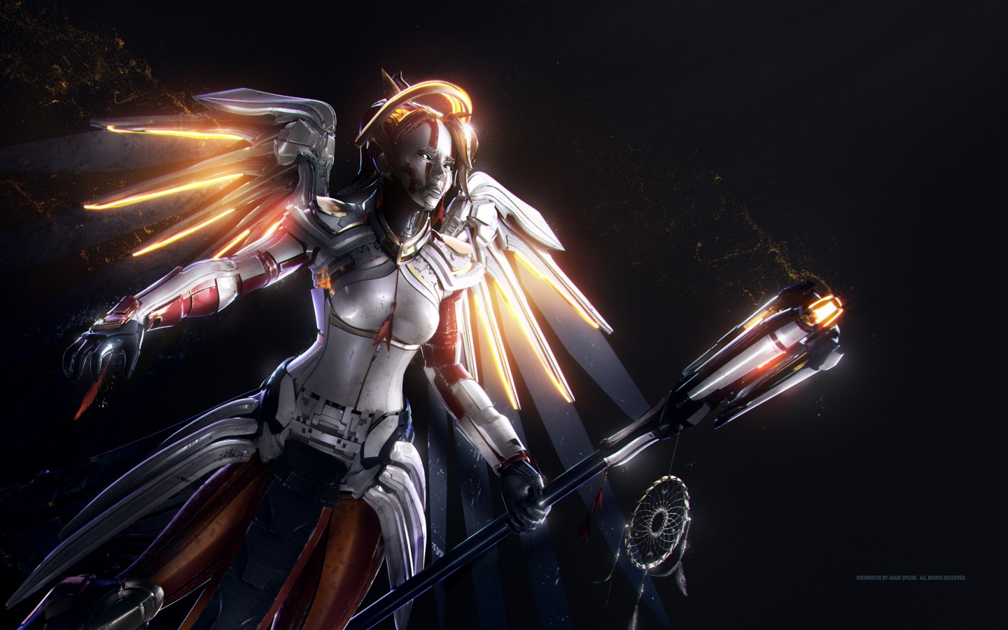 Devil May Cry Wallpaper Hd Mercy Artwork Overwatch Wallpapers Hd Wallpapers Id 20572