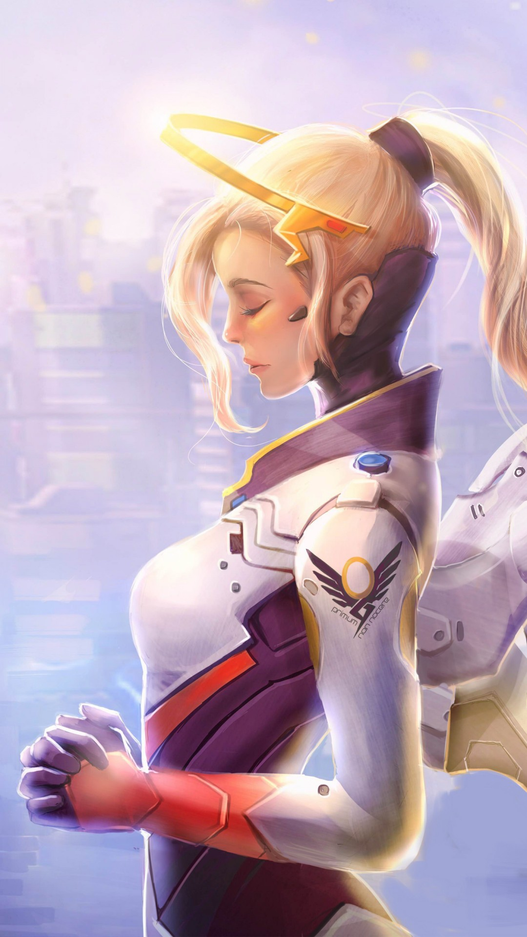 Iphone 6s Wallpaper Hd Mercy Overwatch Artwork 4k Wallpapers Hd Wallpapers Id