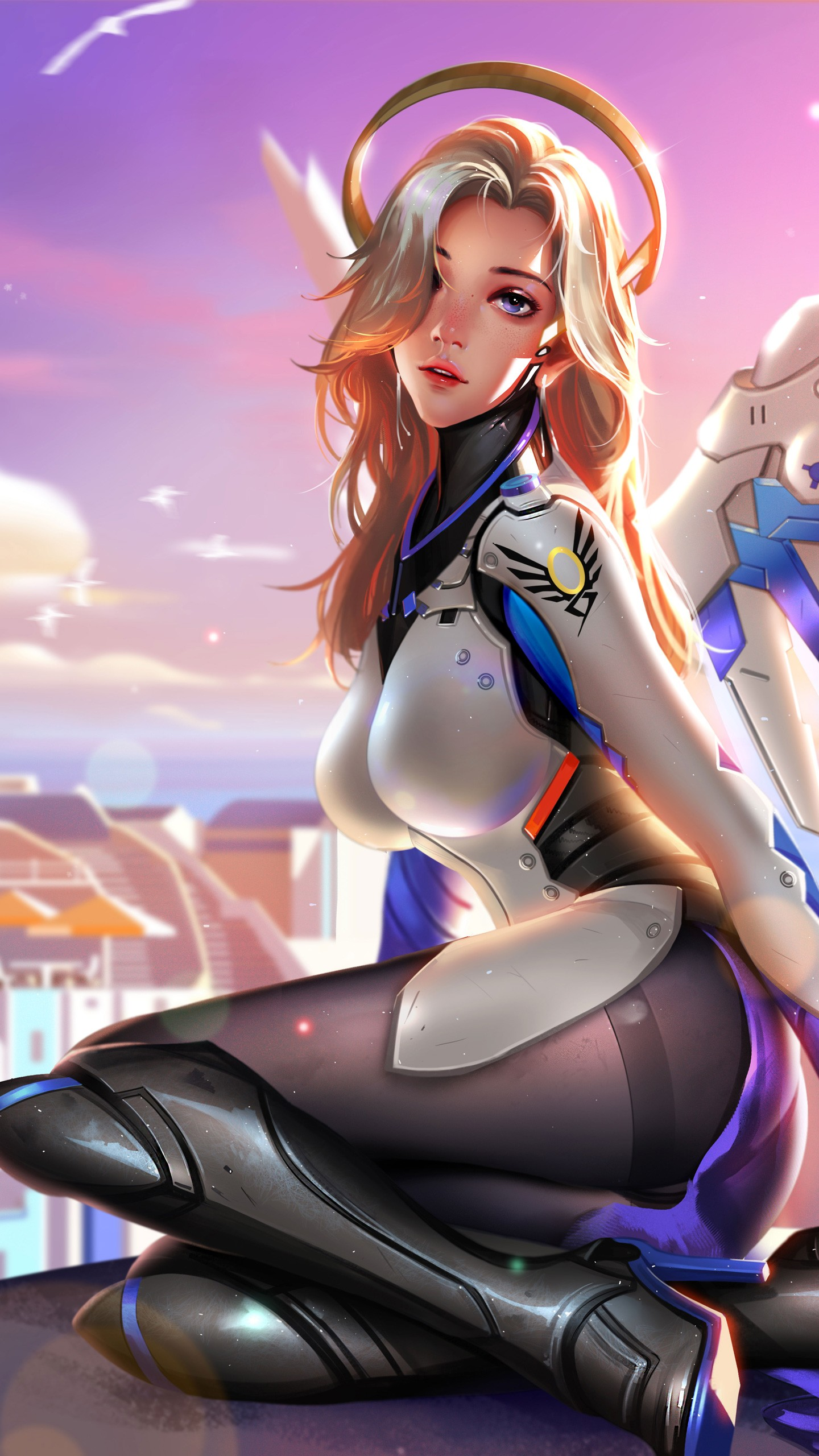 Windows Anime Girls Wallpapers Mercy Overwatch Artwork 4k 8k Wallpapers Hd Wallpapers