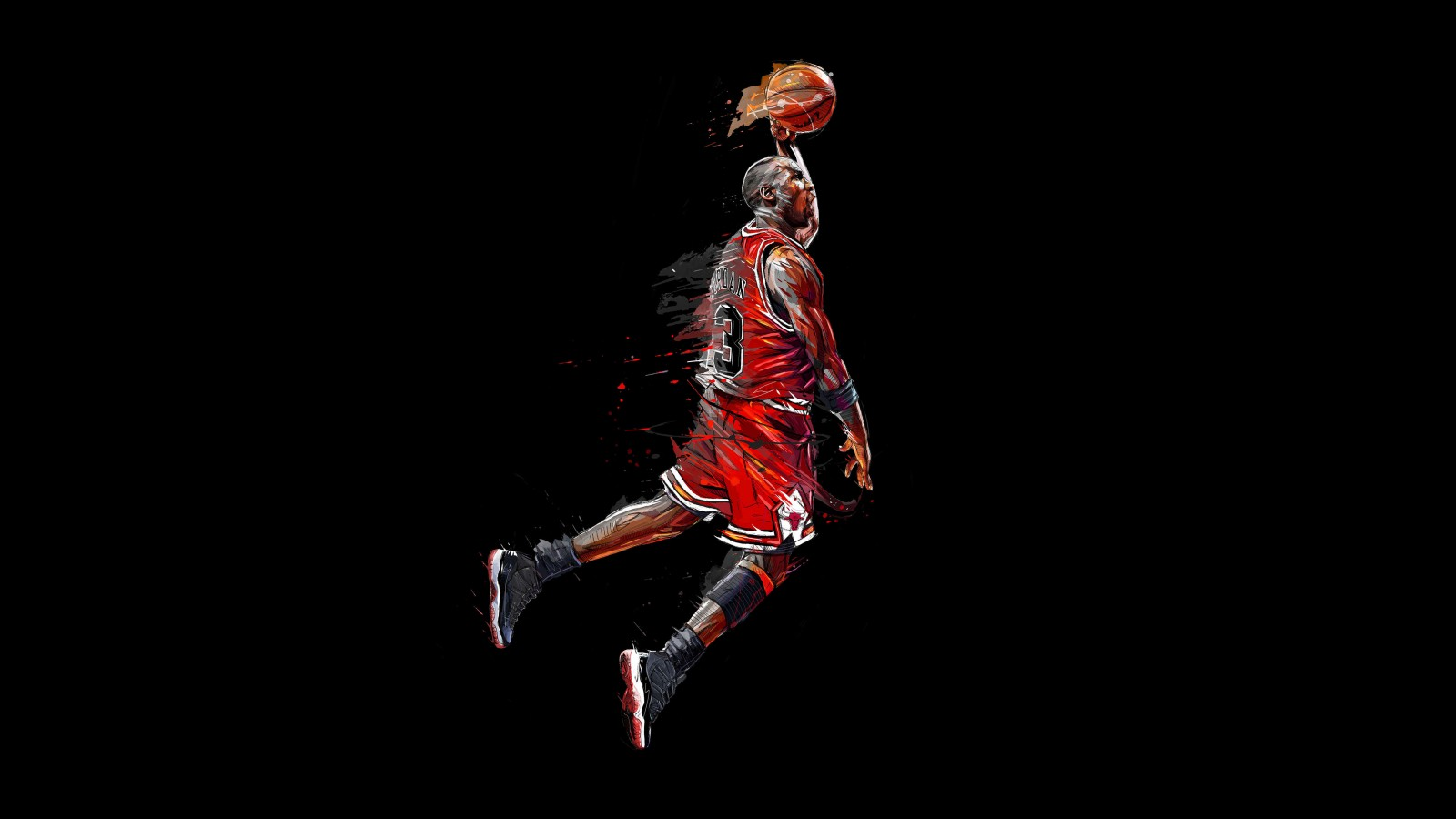 Basketball Wallpaper Iphone Michael Jordan Artwork 5k Wallpapers Hd Wallpapers Id