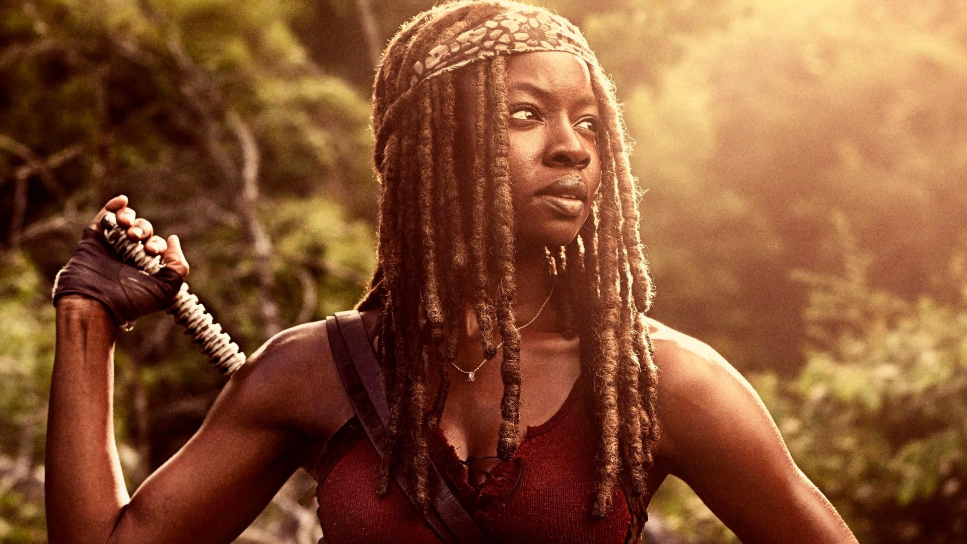 The Walking Dead Iphone Wallpaper Hd Michonne In The Walking Dead Season 9 Wallpapers Hd