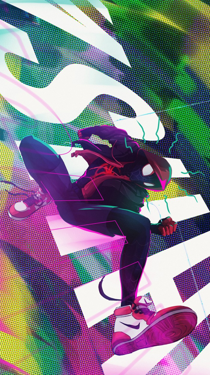Cute Wallpapers For Iphone 6s Plus Miles Morales Fan Art Wallpapers Hd Wallpapers Id 27521