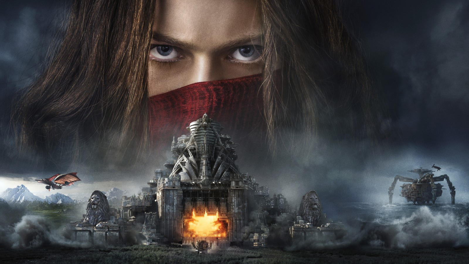 Nature Hd Wallpaper Widescreen 3d Mortal Engines 2018 Movie 5k Wallpapers Hd Wallpapers