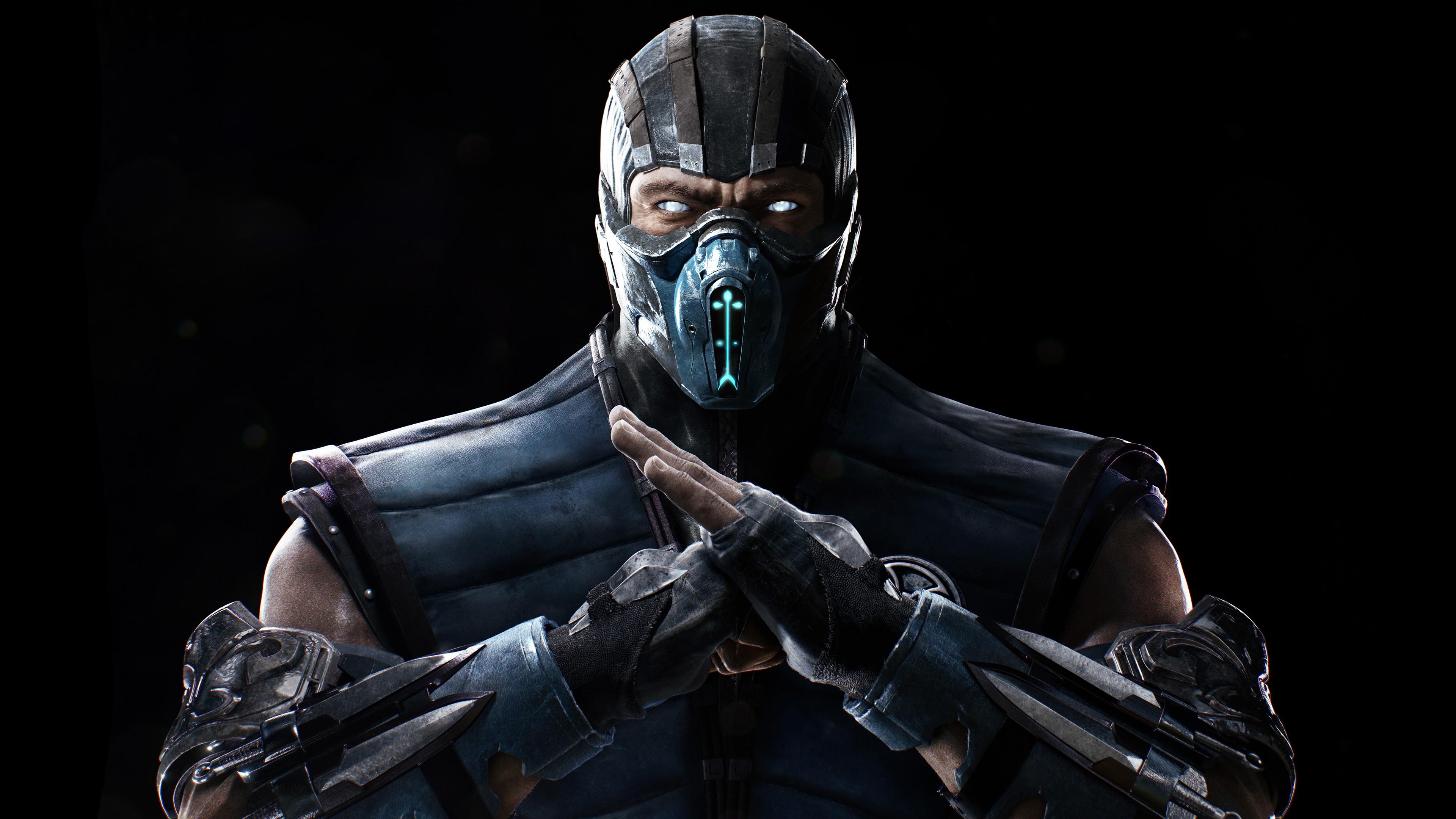 Mortal Kombat X Wallpapers Hd Iphone Mortal Kombat X Sub Zero 4k 5k Wallpapers Hd Wallpapers