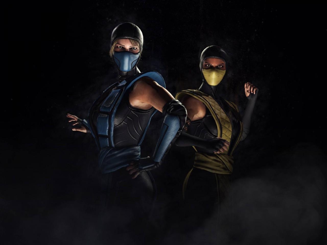 Mortal Kombat X Wallpapers Hd Iphone Mortal Kombat Xl Sub Zero Scorpion Kosplay Wallpapers Hd