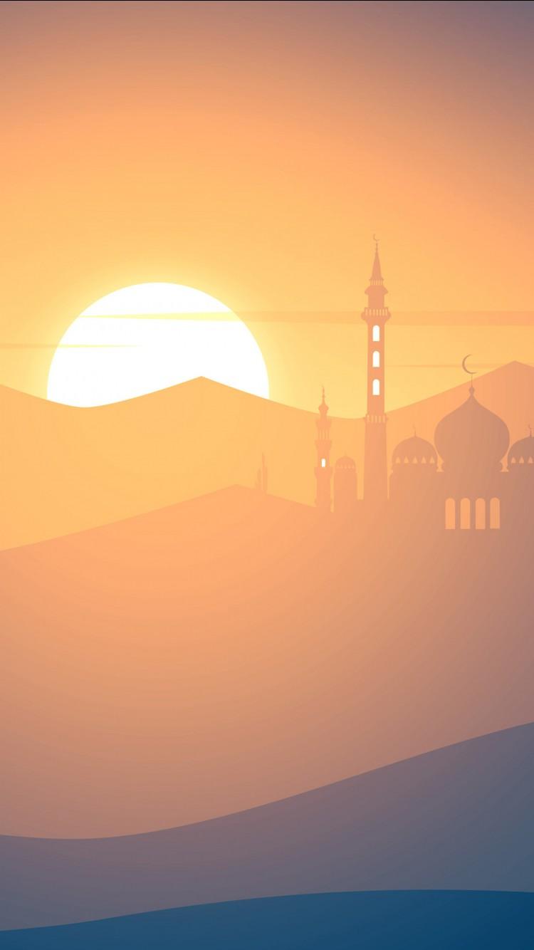 Hd Desktop Wallpapers For Windows 7 Mosque Sunset 4k Wallpapers Hd Wallpapers Id 22276