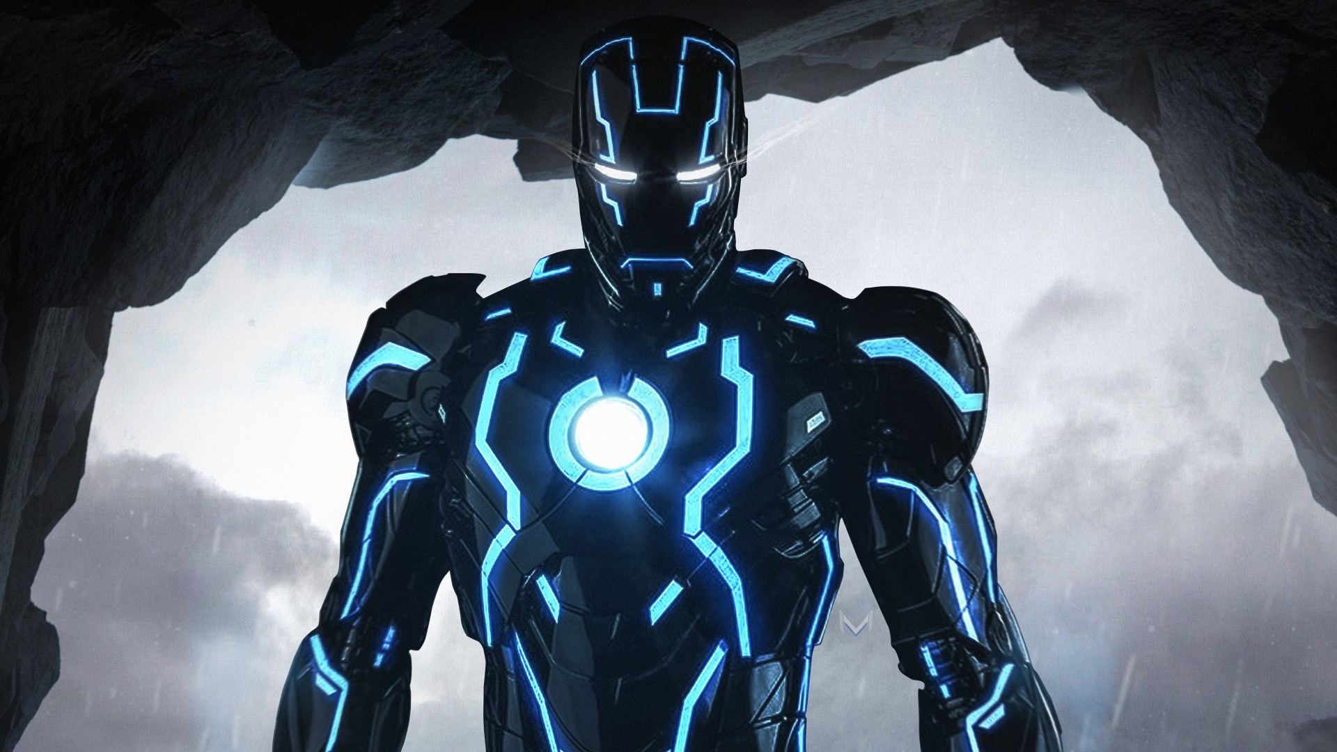 3d Touch Wallpaper Iphone 6s Neon Iron Man 4k Wallpapers Hd Wallpapers Id 24936