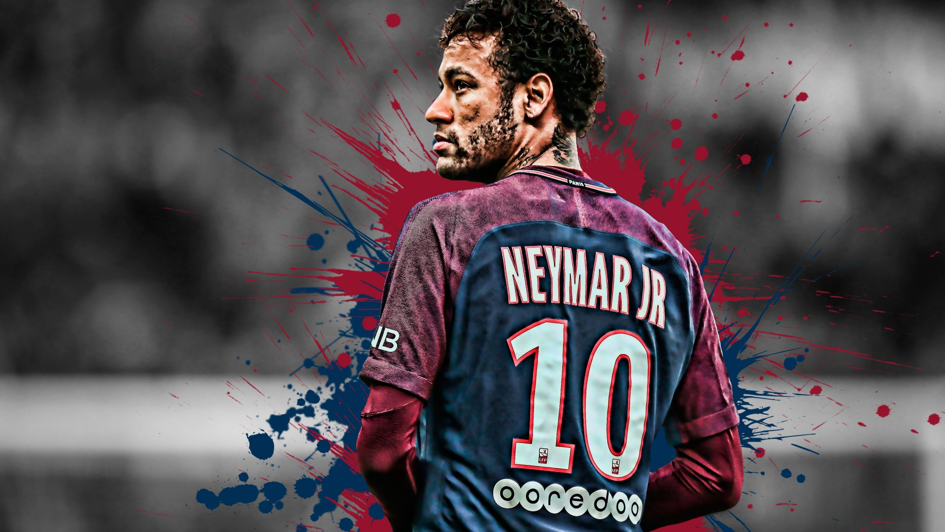 Wallpaper 3d Iphone 6 Neymar Brazilian Football Player 4k Wallpapers Hd