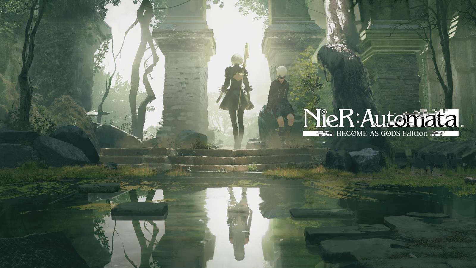 Wallpapers 3d Abstract Black Nier Automata Become As Gods Edition 4k 8k Wallpapers Hd