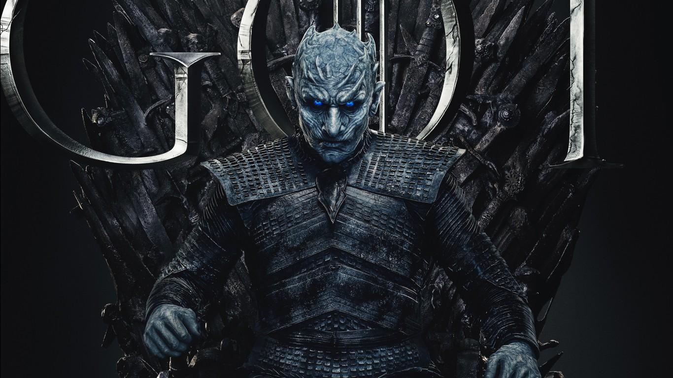 Wallpaper 3d Iphone 6 Plus Night King In Game Of Thrones Final Season 8 2019