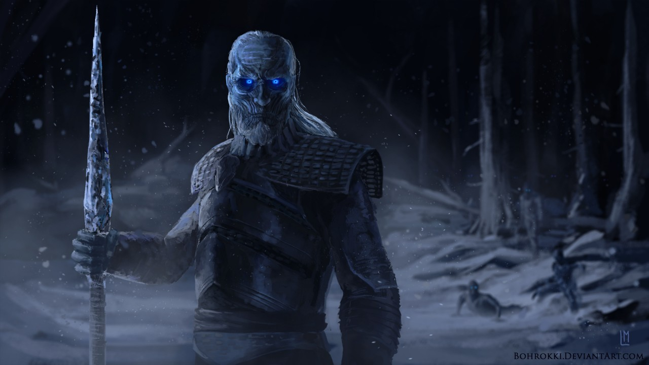 Cute Anime Pictures Wallpapers Night King White Walker Artwork Wallpapers Hd Wallpapers