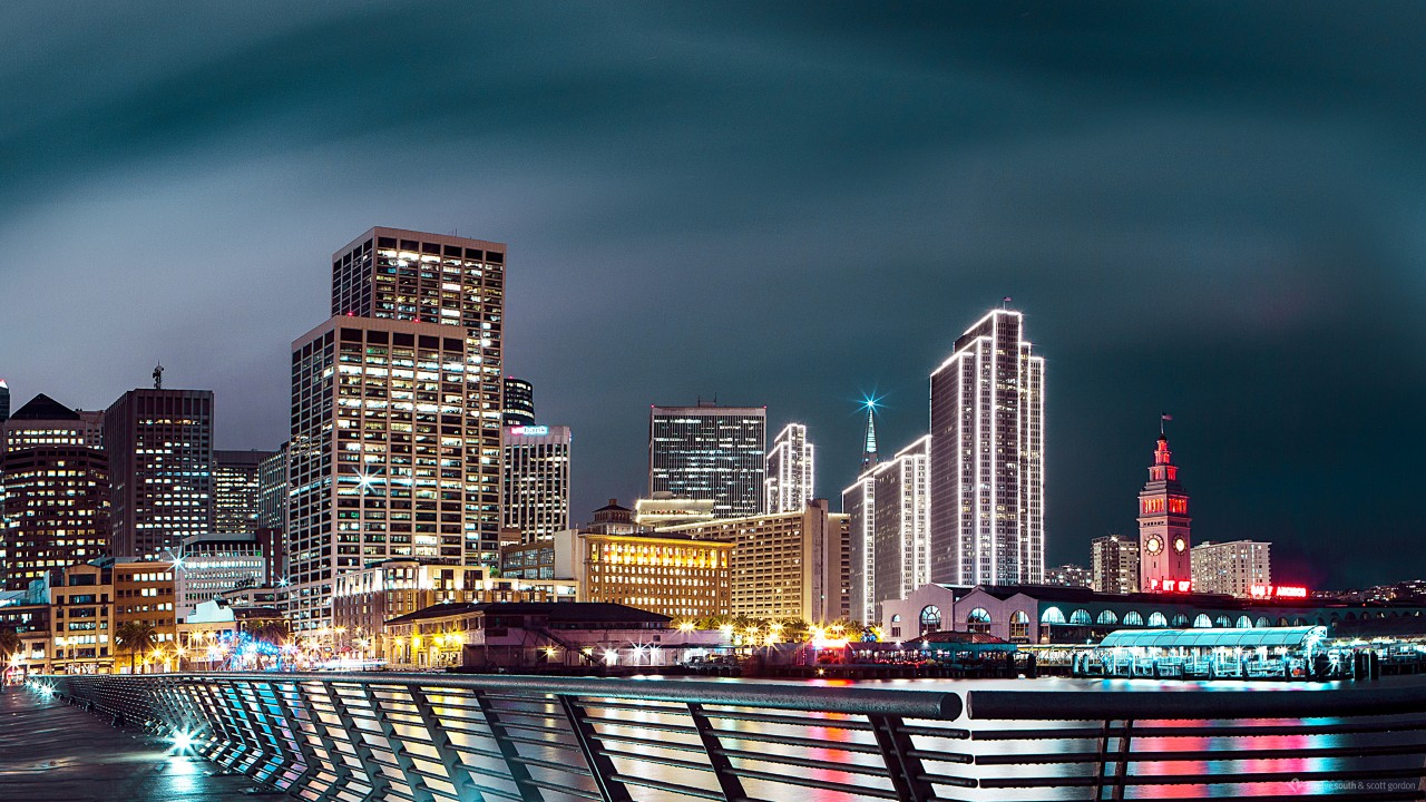5 Inch Screen Hd Wallpapers Nightscape San Francisco Wallpapers Hd Wallpapers Id