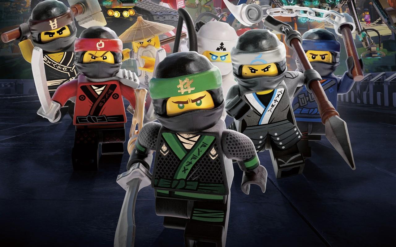 3d Wallpaper Widescreen High Resolution Game Ninja Warriors The Lego Ninjago Movie 4k Wallpapers Hd