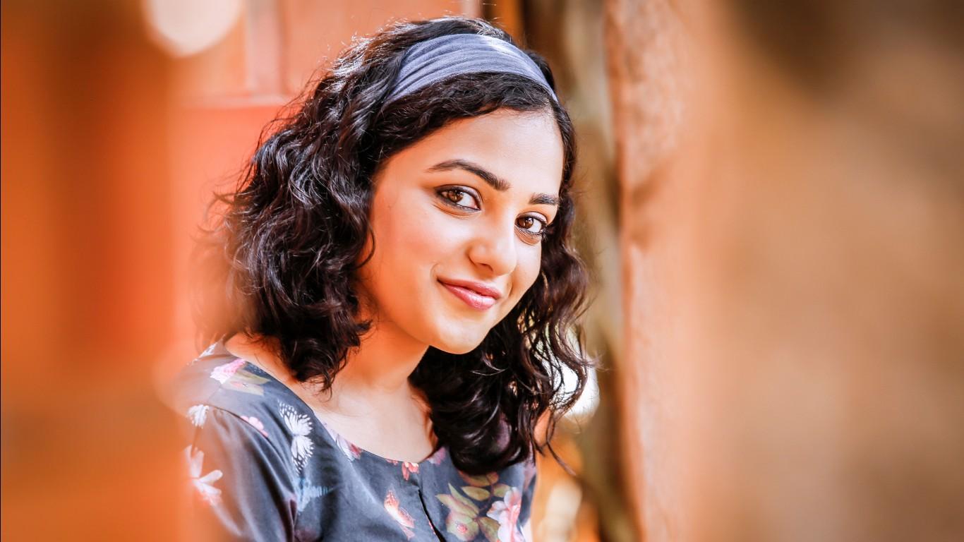 Cute Actress Wallpapers Download Nithya Menen 5k 2016 Wallpapers Hd Wallpapers Id 18618
