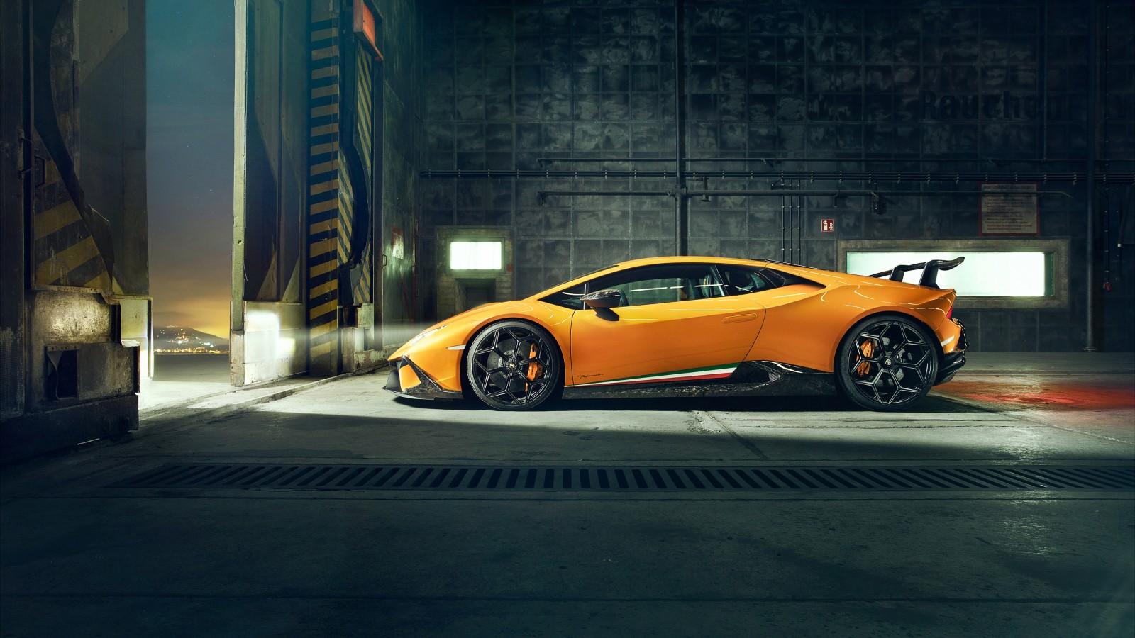 Desktop Wallpaper 3d Nature Novitec Lamborghini Huracan Perfomante 2018 4k Wallpapers