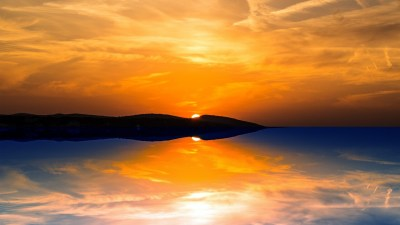 Orange Sunset Wallpapers | HD Wallpapers | ID #16935