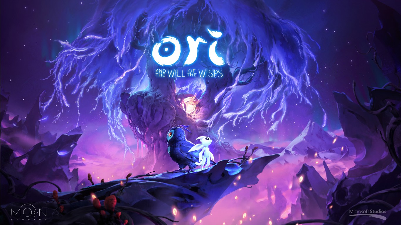 Fantasy Forest 3d Desktop Wallpaper Ori And The Will Of The Wisps 4k 8k Wallpapers Hd